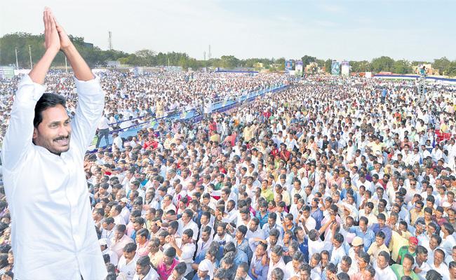 సర్వేః వైఎస్సార్ కాంగ్రెస్ పార్టీ ప్రభంజనం!