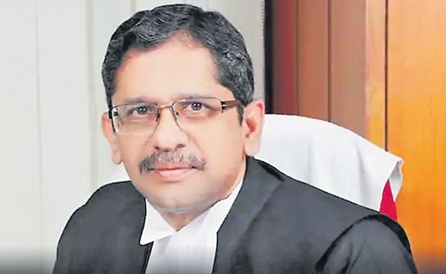 ఎన్వీ రమణ పరువు తీస్తున్న ఈనాడు, ఆంధ్రజ్యోతి