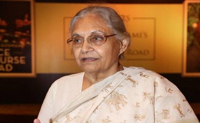 ఢిల్లీ మాజీ సిఎం షీలా దీక్షిత్ కన్నుమూత