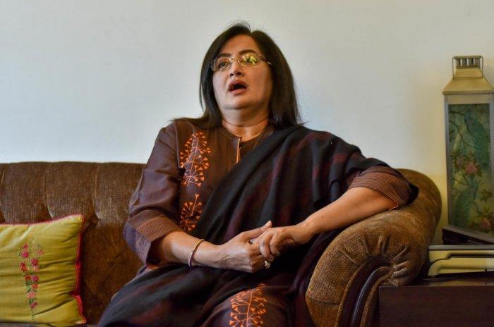 ఏ పార్టీలోనూ చేరేది లేదన్న నటీమణి!