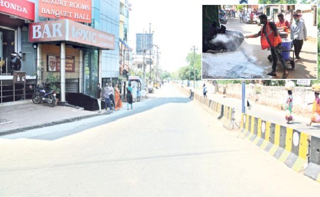 కరోనా : హైరిస్క్ లో విశాఖలో మూడు ప్రాంతాలు!